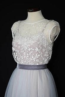 Šaty - Svadobné šaty na gumičky so spodničkovými šatami rôzne farby - 13840909_
