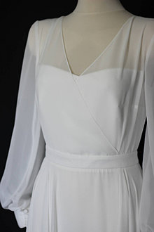 Šaty - Svadobné šaty pre zuzku - 13841438_