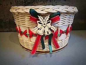 Košíky - Vianočný košík (Vzor 1) - 13843001_