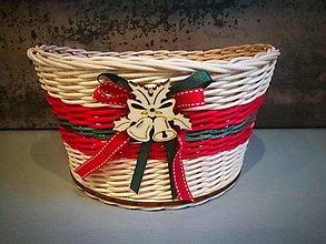 Košíky - Vianočný košík (Vzor 2) - 13843016_