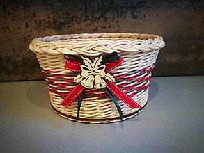 Košíky - Vianočný košík (Vzor 3) - 13843039_