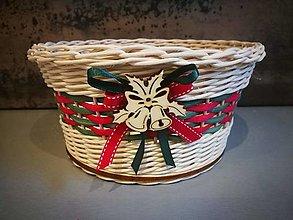 Košíky - Vianočný košík (Vzor 4) - 13843053_