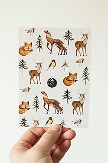 """Papier - Pohľadnica """" Príbeh na kúsku papiera"""" - 13844755_"""