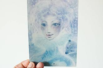 """Papier - Pohľadnica """"Winter Víla"""" - 13844799_"""