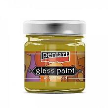 Farby-laky - Farba na sklo, nevypaľovacia, 30 ml, zázvor - 13847755_