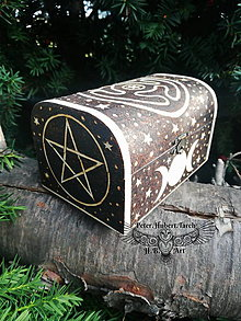 Krabičky - Šperkovnica bohyne Hekate - 13847401_