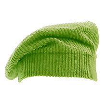 Čiapky, čelenky, klobúky - Francúzska baretka - zelená pickle - 13846545_