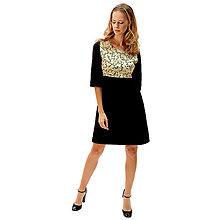 Šaty - Sienna - japonská čerešňa, čierne šaty - 13849636_
