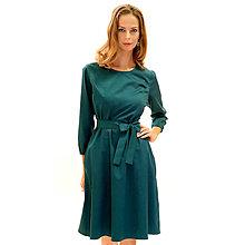 Šaty - Tegan - princezové šaty, petrolejové - 13849754_
