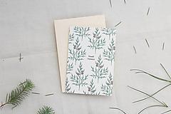 Papiernictvo - Vianočná pohľadnica   Stromčeky - 13846714_
