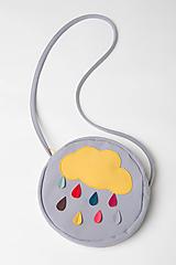 Detské tašky - Pískacia taška Farebný dážď - 13845711_