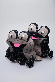 Hračky - Žabka biobavlna - 13847512_