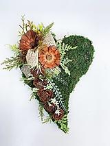 Dekorácie - Spomienková dekorácia - srdce - 13845967_