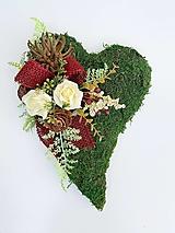Dekorácie - Spomienková dekorácia - srdce - 13845973_