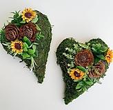 Dekorácie - Spomienková dekorácia - srdce - 13846001_