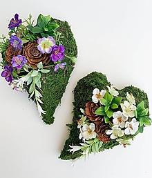 Dekorácie - Spomienková dekorácia - srdce - 13846006_