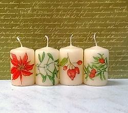 Svietidlá a sviečky - dekoračné sviečky- darček k objednávke nad 10e - 13848714_