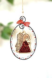 Detské doplnky - Bodkovaný anjelik. - 13845453_