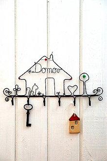 Nábytok - vešiak Domov * 28,5 - 13846023_