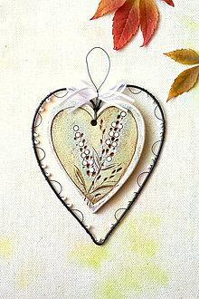 Dekorácie - Čisté srdce - 13847349_