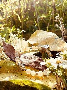 Náramky - Citrínový náramok Odvahy - 13851611_