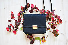 Kabelky - Leona kabelka (čierna) - 13853278_