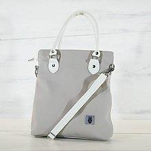 Veľké tašky - Kožená kabelka - Niké - 13853697_