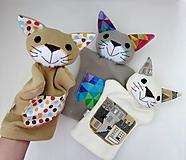 Hračky - Maňuška mačka - 13851353_