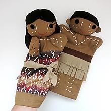 Hračky - Maňuška aborigénske dievča/ mládenec - na objednávku - 13852325_