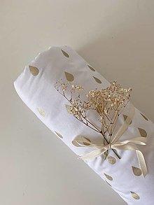 """Textil - Deka """"Golden drops"""" - 13853754_"""