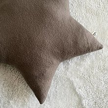 "Textil - Hviezda ""Dark Brown"" - 13853999_"