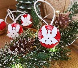 Dekorácie - Vianočné orechy s anjelom - 13851534_