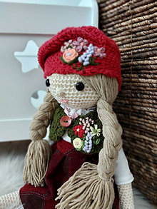 Hračky - Háčkovaná bábika - 13854620_