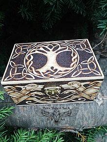 Krabičky - Strom života šperkovnica - 13856595_
