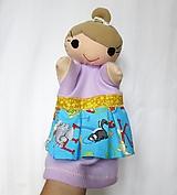 Hračky - Maňuška pani učiteľka v písmenkovej sukničke - 13854511_