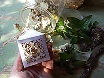 Dekorácie - Voňavé kvetinky - mäta - 13858623_