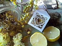 Dekorácie - Voňavé kvetinky - citrón - 13858658_