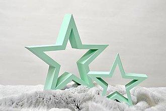Dekorácie - Vianočné hviezdy - 13855916_