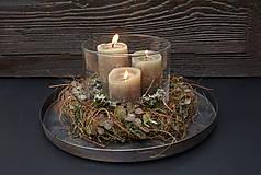 Dekorácie - Venček na stôl - 13857957_