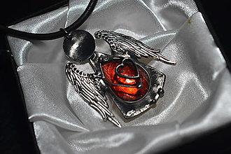 Náhrdelníky - anjelik ochránca - 13855999_