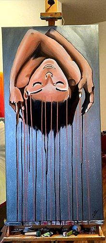 Obrazy - Head down - 13854459_