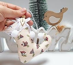 Dekorácie - Vianočné ozdôbky - čižmička - 13855998_