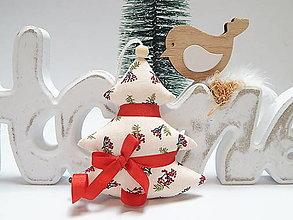 Dekorácie - Vianočné ozdôbky - stromček - 13856011_