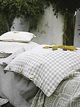 Úžitkový textil - Ľanové obliečky Matej - 13857966_
