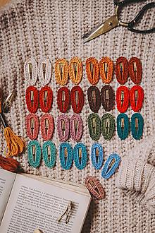 Iné šperky - Háčkované pukačky - 13854601_