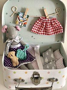 Hračky - Myška z čarovného kufríka - 13855407_