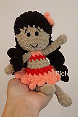 Hračky - Háčkovaná bábika Vaneska - 13858678_