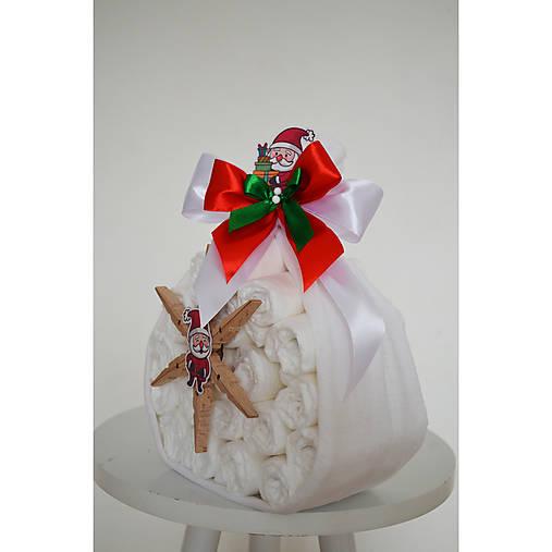 Plienková torta Vianočný batôžtek