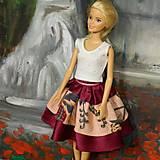 Hračky - Sukňa a blúzka pre Barbie - 13858687_