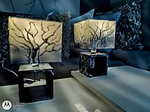 Svietidlá a sviečky - Nočné lampy hombré - 2 ks - 13860515_
